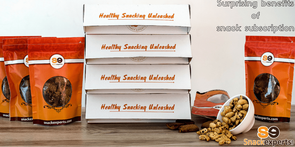 Five surprising benefits of snack subscription