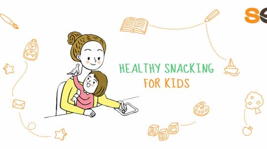The Secrets of Healthy Snacking for Kids + 5 Easy Adopt Habits